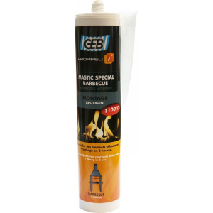 Mastic spécial barbecue - GEB - 310 ml