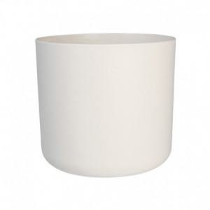 Cache-pot B.for Soft rond - Elho - blanc - 25 cm