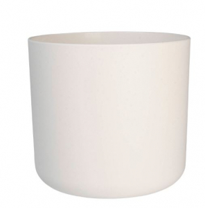 Cache-pot B.for Soft rond - Elho - blanc - 18 cm
