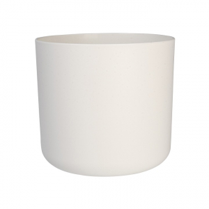 Cache-pot B.for Soft rond - Elho - blanc - 14 cm