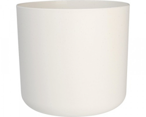 Cache-pot B.for Soft rond - Elho - blanc - 22 cm
