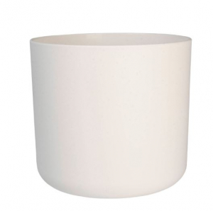 Cache-pot B.for Soft rond - Elho - blanc - 16 cm