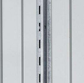 Fixations verticales - Abri Avantgarde et Highline