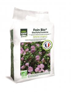 Foin Bio Luzern/Dactyle - Hami Form - Spécial rongeurs - 20 L