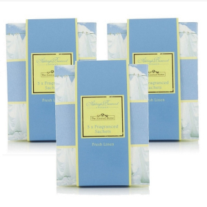 Sachets parfumés pour maison - The scented home - Ashleigh & Burwood - Secret de lavandière - x3