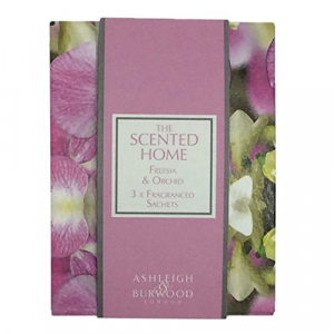 Sachets parfumés pour maison - The scented home - Ashleigh & Burwood - Orchidée et Freesia - x3