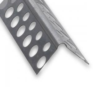 Cornière perforée acier PAF galvanisé CQFD - 25x25 L 2.5 m