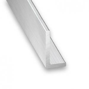 Cornière aluminium brut CQFD - 30x20x1.5 L 1m