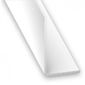 Cornière inégale PVC blanc CQFD - 20x30 L 1m