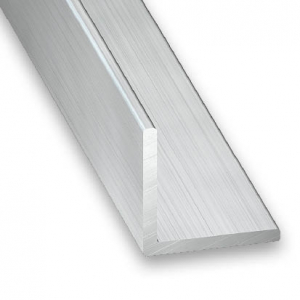 Cornière aluminium brut CQFD - 40x40x1.5 L 2.5 m