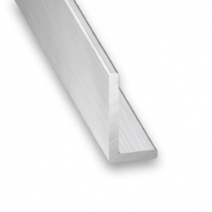 Cornière aluminium brut CQFD - 15x10x1 L 2.5 m