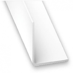 Cornière PVC blanc CQFD - 10x10 L 2.6 m