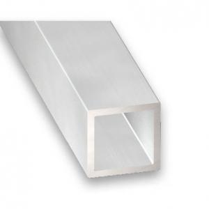 Tube carré aluminium CQFD - 20x20x1.5 L 1m