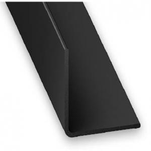 Cornière PVC noir CQFD - 20x20 L 2.6 m
