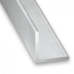 Cornière aluminium brut CQFD - 10x10x1 L 1m