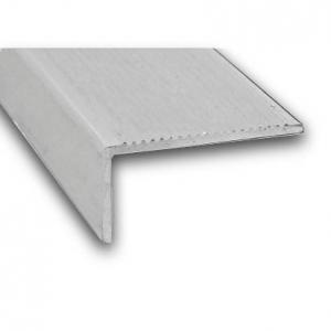 Nez de marche aluminium brut CQFD - 45x23 L 2m