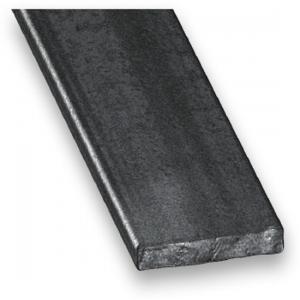 Plat acier laminé CQFD - 20x4 L 2m