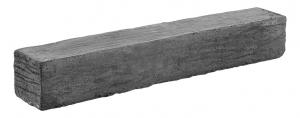 Bordure aspect schiste ton ardoise Hairie Grandon 50,5 x 8 x 7,5 cm