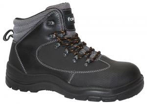 Chaussure haute S3 Fortec - Solidur - Pointure 43 - Noir