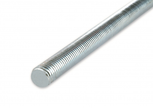 Tige filetée - En acier zingué - 1 m - Ø 6 mm - 1 pièce