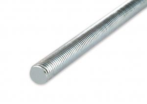 Tige filetée - En acier zingué - 1 m - Ø 12 mm - 1 pièce