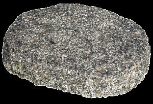 Pas japonais rond granite - Penez Herman - Ø 30