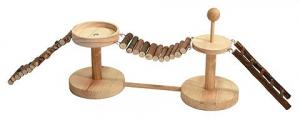 Passerelle en bois pour hamster et souris - Rongis - 60 cm
