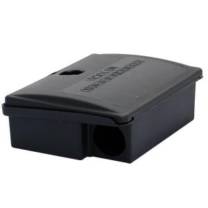 Boîte pour appât souris avec clé - Masy - 12,5x9x4 cm