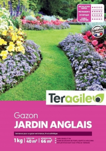Gazon jardin anglais 1kg - Teragile