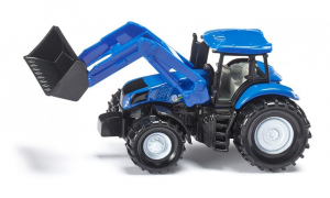 Tracteur New Holland avec chargeur frontal - Siku - 1/64