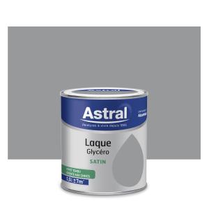 Peinture Laque Glycéro - Astral - Satin - Acier - 0.5 L