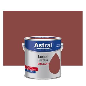 Peinture Laque Glycéro - Astral - Brillant - Teck - 2 L