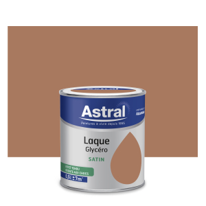 Peinture Laque Glycéro - Astral - Satin - Camel - 0.5 L