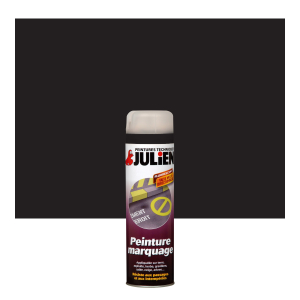 Aérosol peinture de marquage - Peinture Julien - Noir brillant - 0.6 L