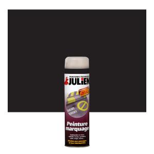 Aérosol peinture de marquage - Peintures Julien - Noir Mat - 0.6 L