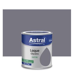 Peinture Laque Glycéro - Astral - Satin - Gris argent - 0.5 L