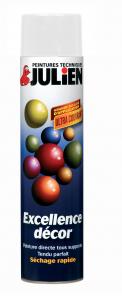 Aérosol peinture - Excellence Décor - Brillant Blanc  - 0.6 L