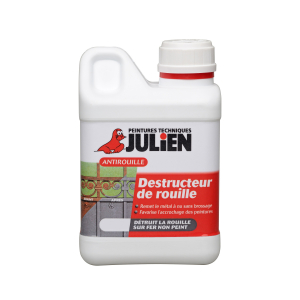 Peinture Destructeur de rouille - Peintures Julien - 0.25 L
