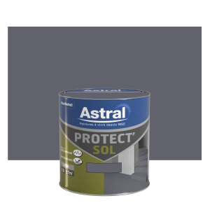 Peinture Protect'sol - Astral - Satin  - Gris minerai - 0.5 L