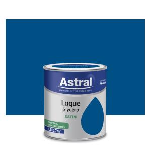 Peinture Laque Glycéro - Astral - Satin - Bleu Pétrole - 0.5 L