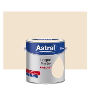 Peinture Laque Glycéro - Astral - Brillant - Coquille d'oeuf - 2 L