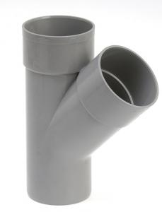 Culotte de branchement mâle femelle - Girpi - 80 mm - 45°