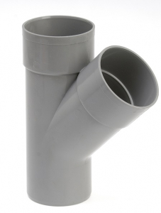 Culotte de branchement mâle femelle - Girpi - 100 mm - 45°