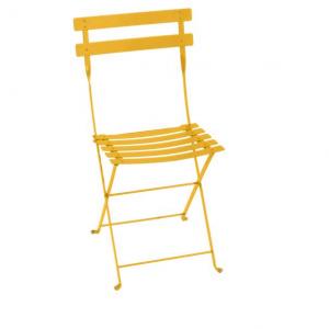 Chaise pliante Bistro - Fermob - Métal - Miel
