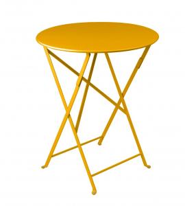 Table pliante Bistro - Fermob - Ø 60 cm - Miel