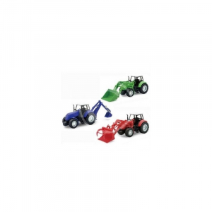 Coffret tracteurs 3 modèles assortis - New Ray - 132
