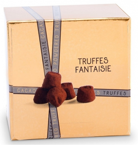 Truffe fantaisie nature - Mathez - 100 gr