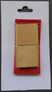 Coins d'emmanchage pour hache et hachette EDME-LACROIX - Lot de 6