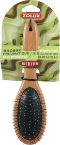 """Brosse pneumatique """"Bambou"""" Medium pour chien - Zolux"""