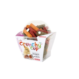 Crunchy Cup Candy Luzerne Carottes Betterave 200 g Zolux - Friandise pour rongeurs